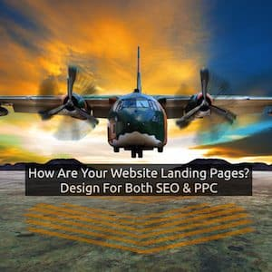 SEO and Pay Per Click Landing Pages