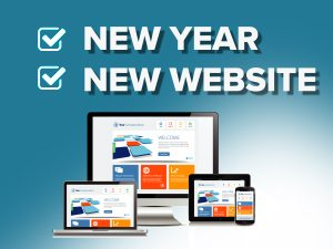 A New Year - A New Website Design