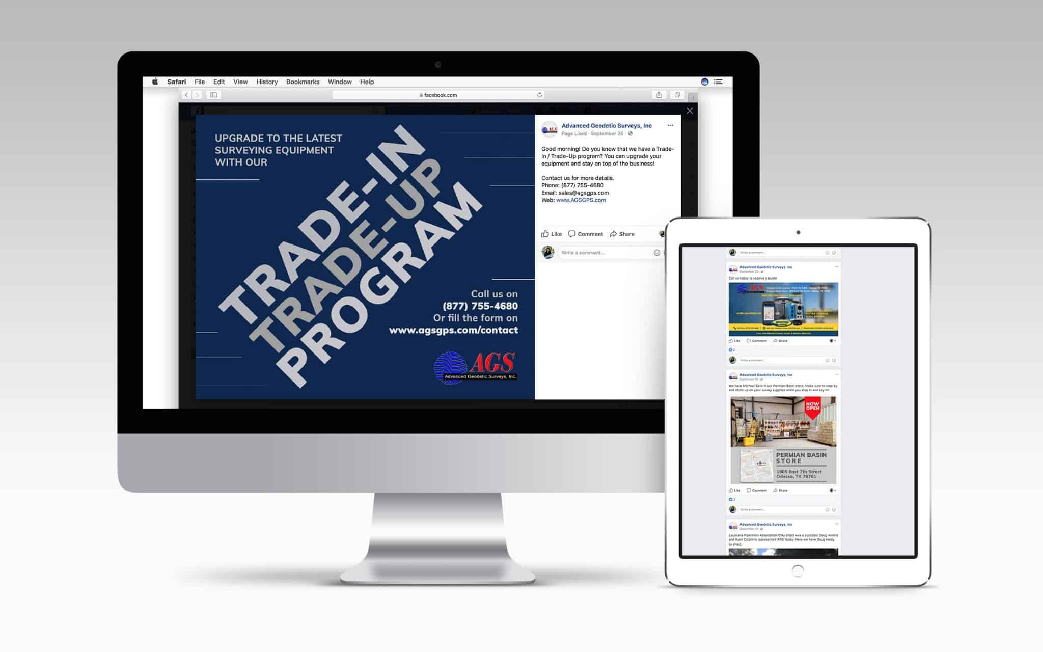 Social Media Ads For New Client Program