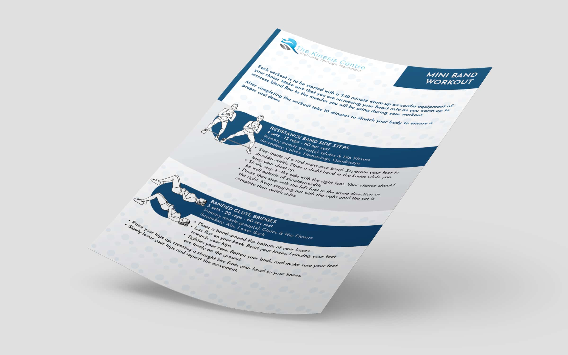 Brochure Design for Fitness Client - Third