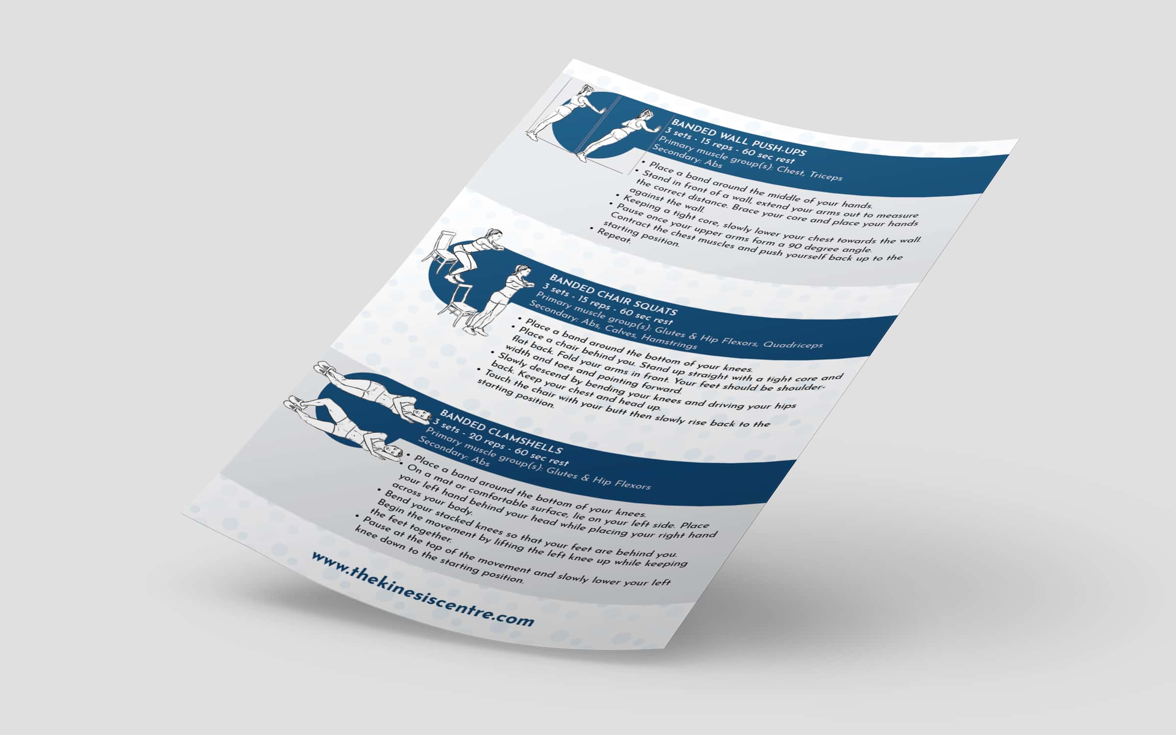 Brochure Design For Fitness Client