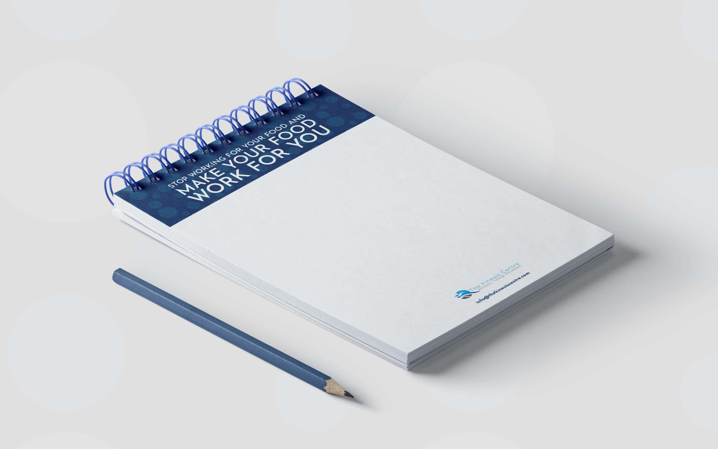 Note Pad Design for Client