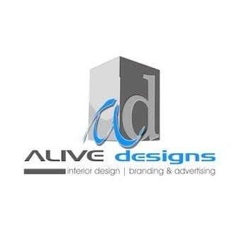 alive designs logo design