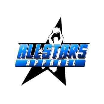 all star apparel logo design