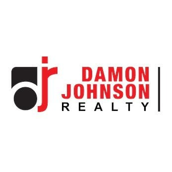 damon johson realty logo design