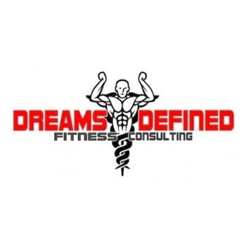 dream defined fitness consulting logo design