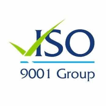 iso 9001 group logo design