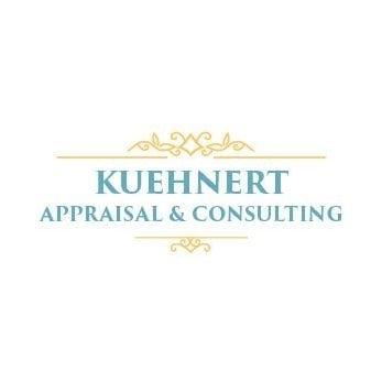 kuehnert appraisal and consulting logo design