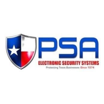psa electronic security logo design