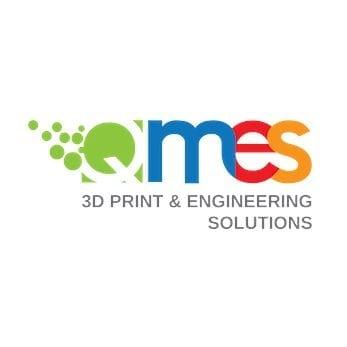 qmes logo design