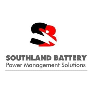south land battery logo design