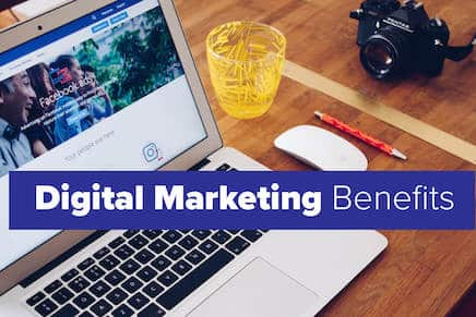 10 benefits of Digital Marketing