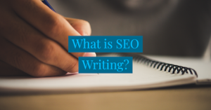 What is SEO writing? Most don't understand its' importance.